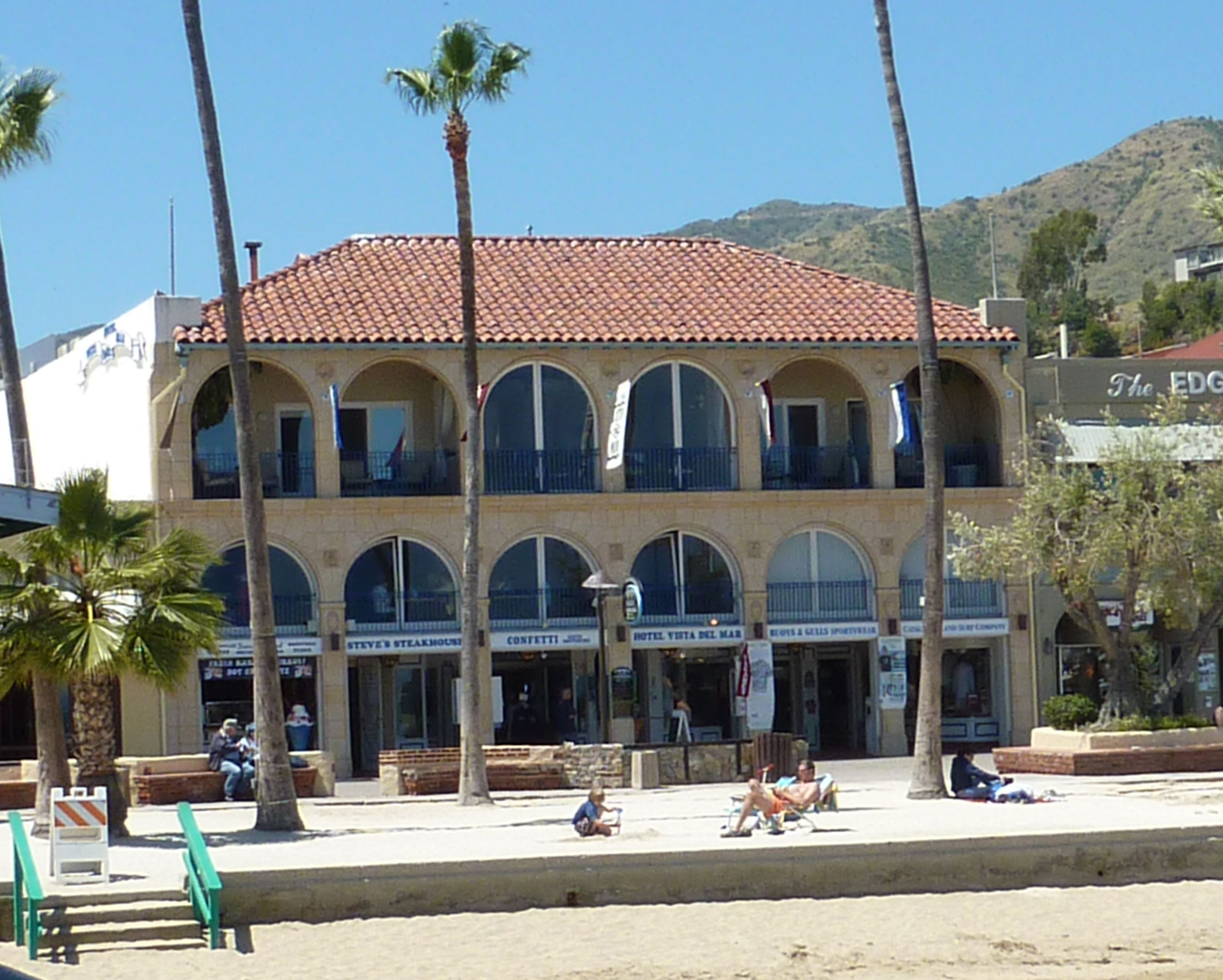 My Grandmothers Hotel The Campo Bravo Once Owned By The Lady In White Now The Vista Del Mar