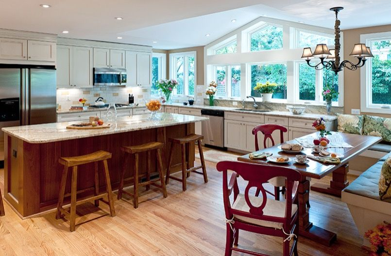 Kitchen Remodeling Northern Virginia   Colonial Kitchen Remodel Project  Profile   Http://www