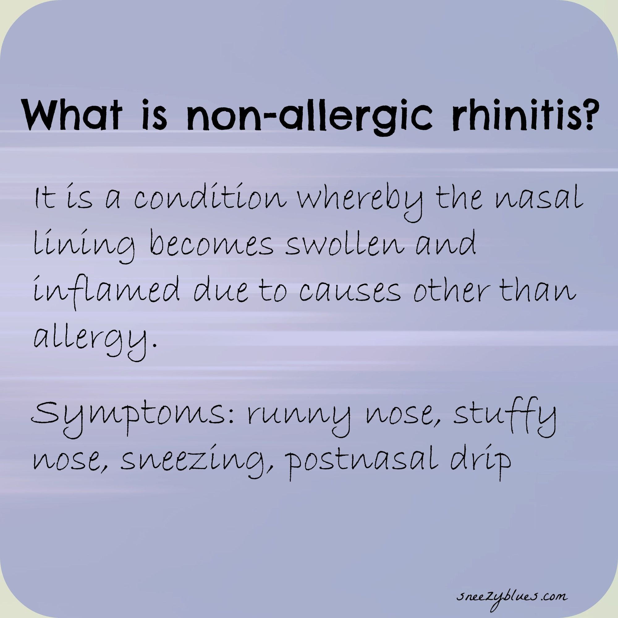 what is non-allergic rhinitis | books | pinterest | allergic