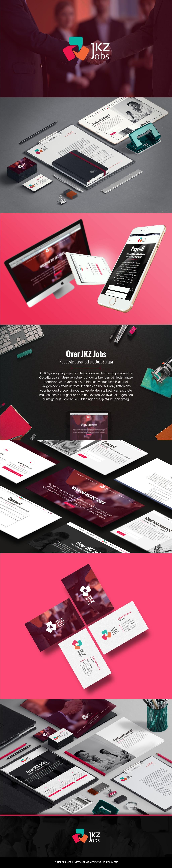 Visual Identity for JKZ Jobs