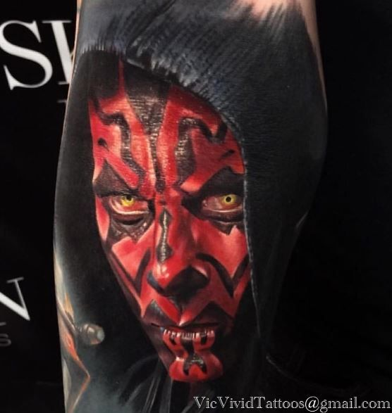 Darth Maul Tattoo