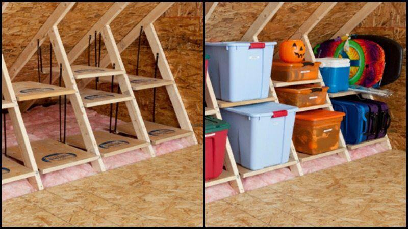 Clever Attic Storage Ideas Storage Bins Plastic Storage Ikea