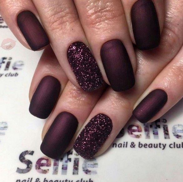 70 Most Sexy Burgundy Color Nails Design For Prom And Wedding - Page 64 of 69 - Diaror Diary