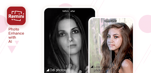 Remini Mod Apk Pro Download Premium In 2020 Photo Enhancer Enhancement Online Photo Editing