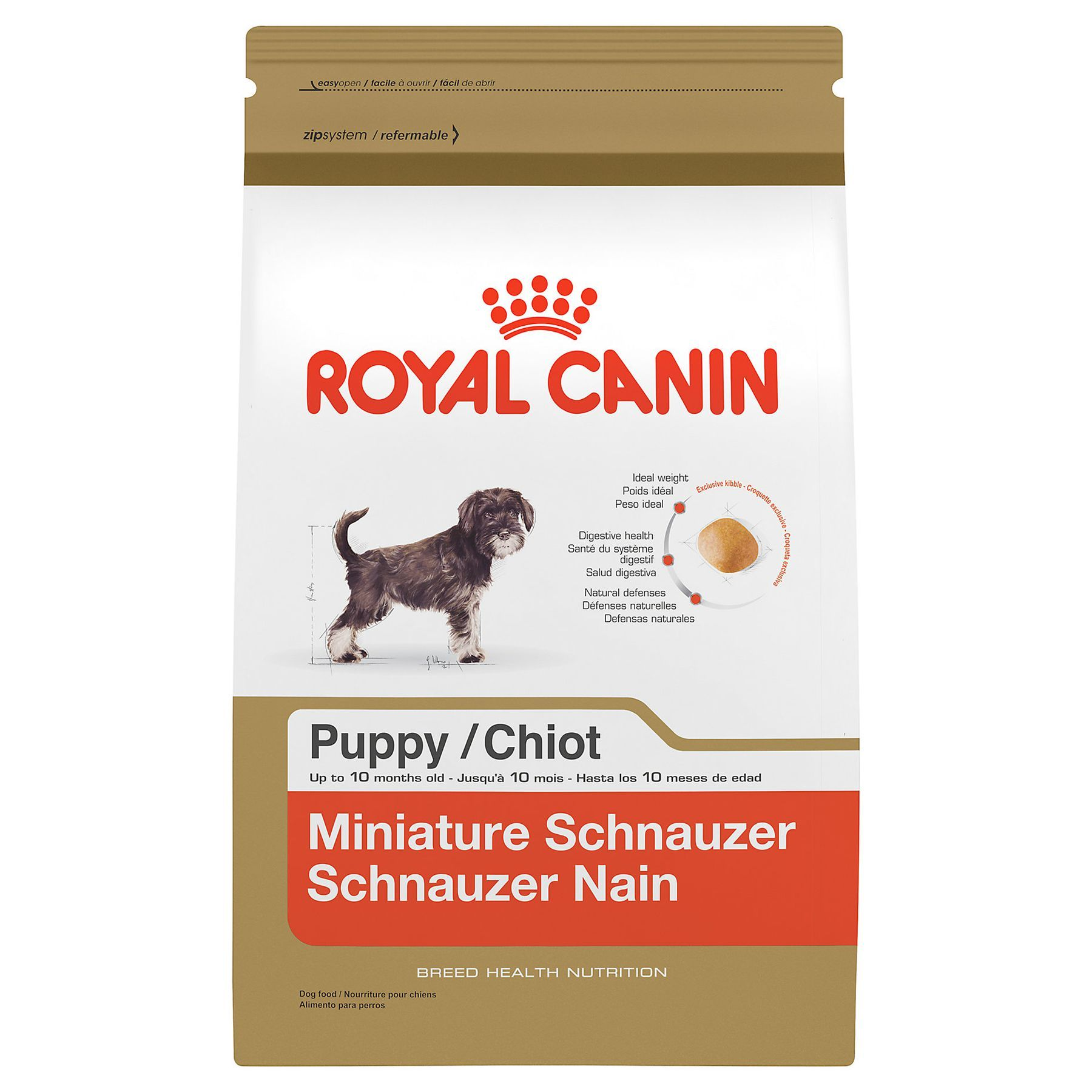 Royal Canin Breed Health Nutrition Miniature Schnauzer Puppy Food