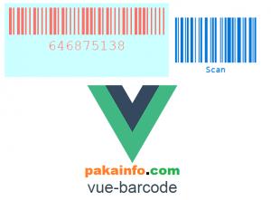 vue-barcode - Vuejs Barcode Generator Script Download