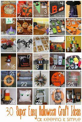 Block Party: 20 Halloween Craft Ideas Features - Rae Gun Ramblings