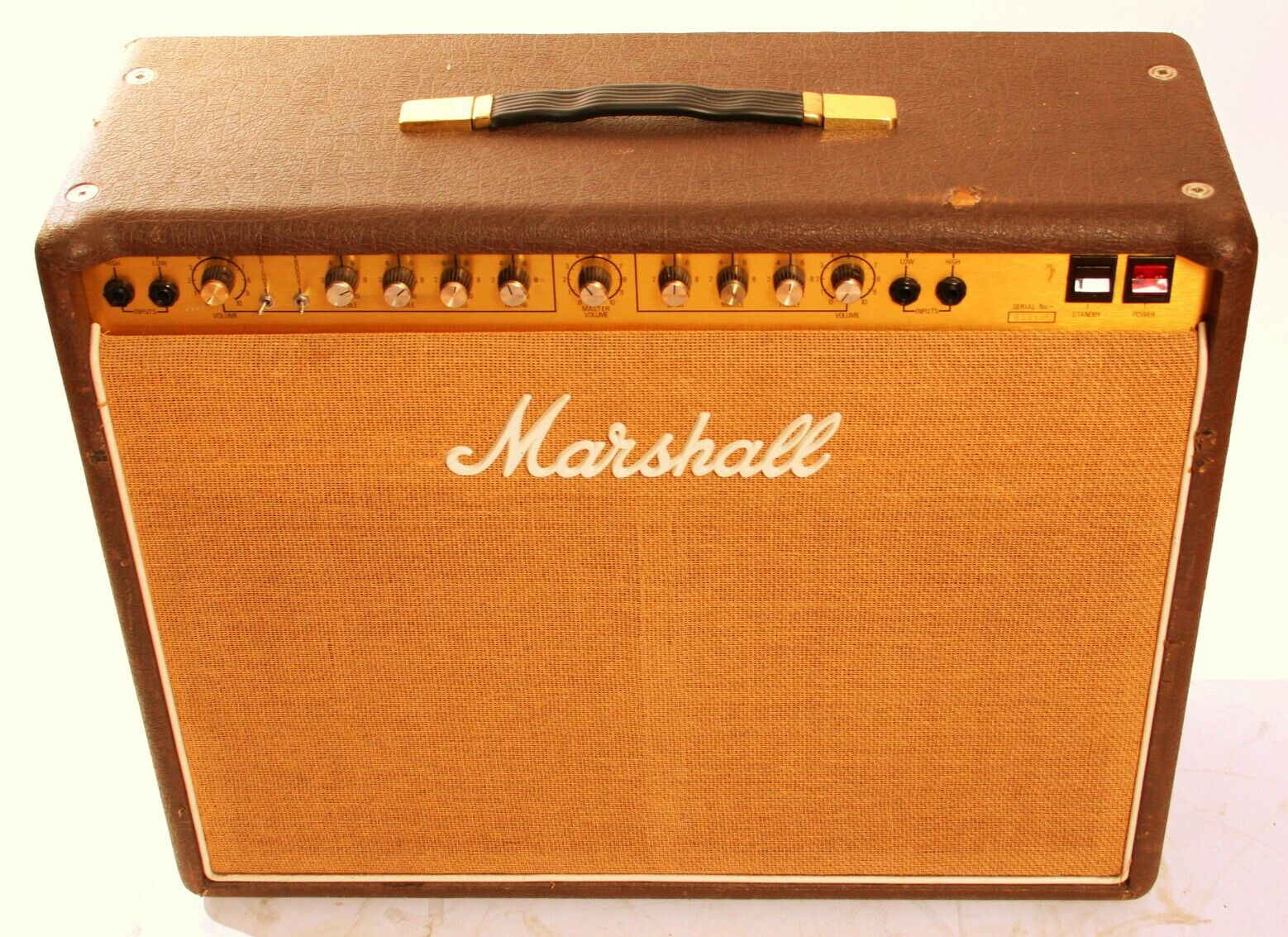 1969 vintage marshall 4x12 1960a celestion plexi cabinet > speaker 1978 marshall 4140 club country 100 watt combo w two kt77