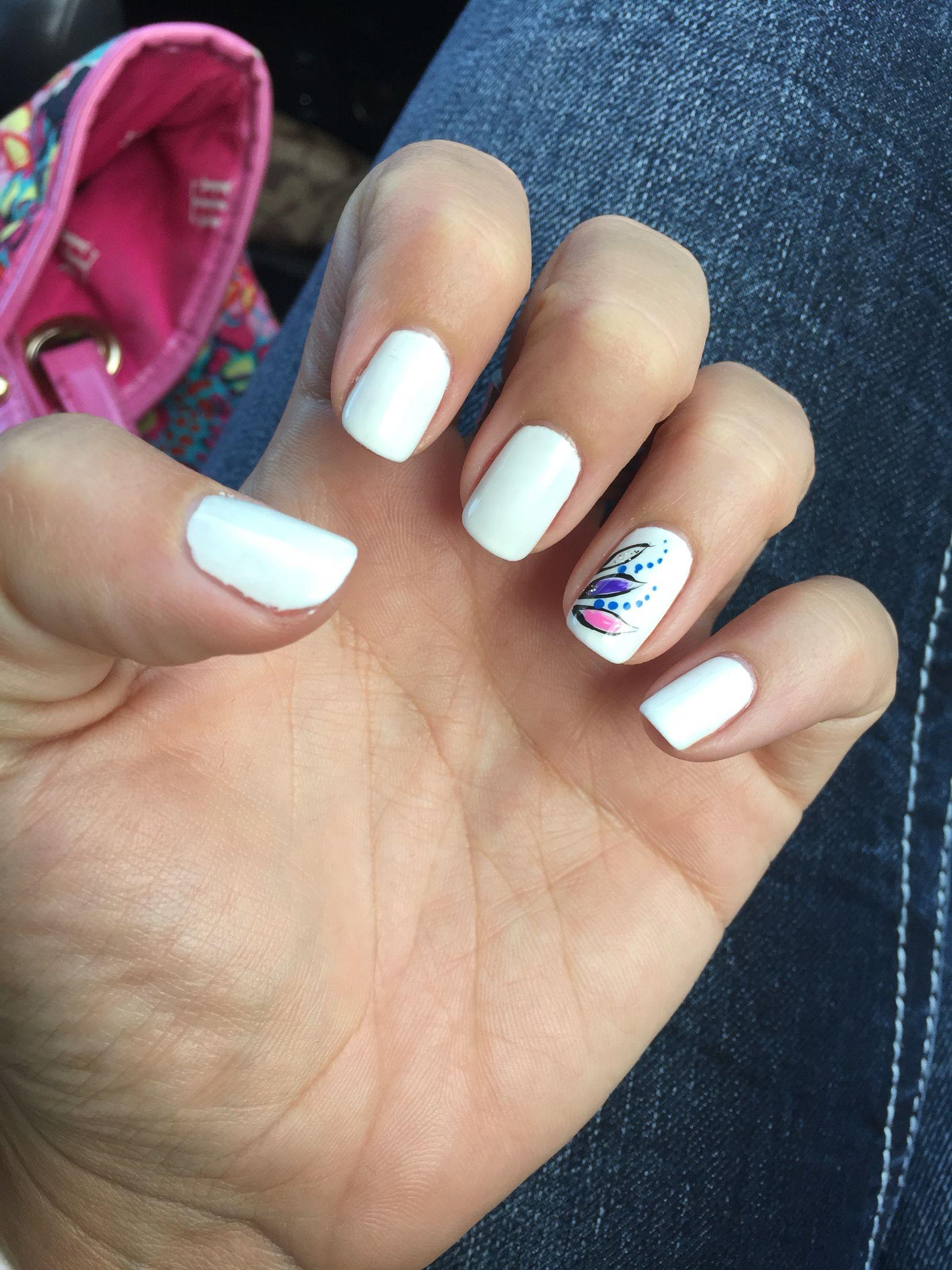 Gel nails white nails beach nails summer nails vacation nails gel nails white nails beach nails summer nails vacation nails accent mightylinksfo