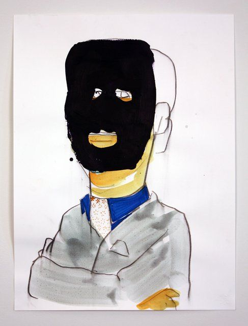 Andrew Cornell Robinson - Society Portrait #2270, Work on Paper