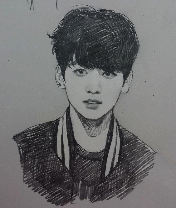 Gerelateerde Afbeelding | Drawings | Pinterest | BTS Fanart And Kpop