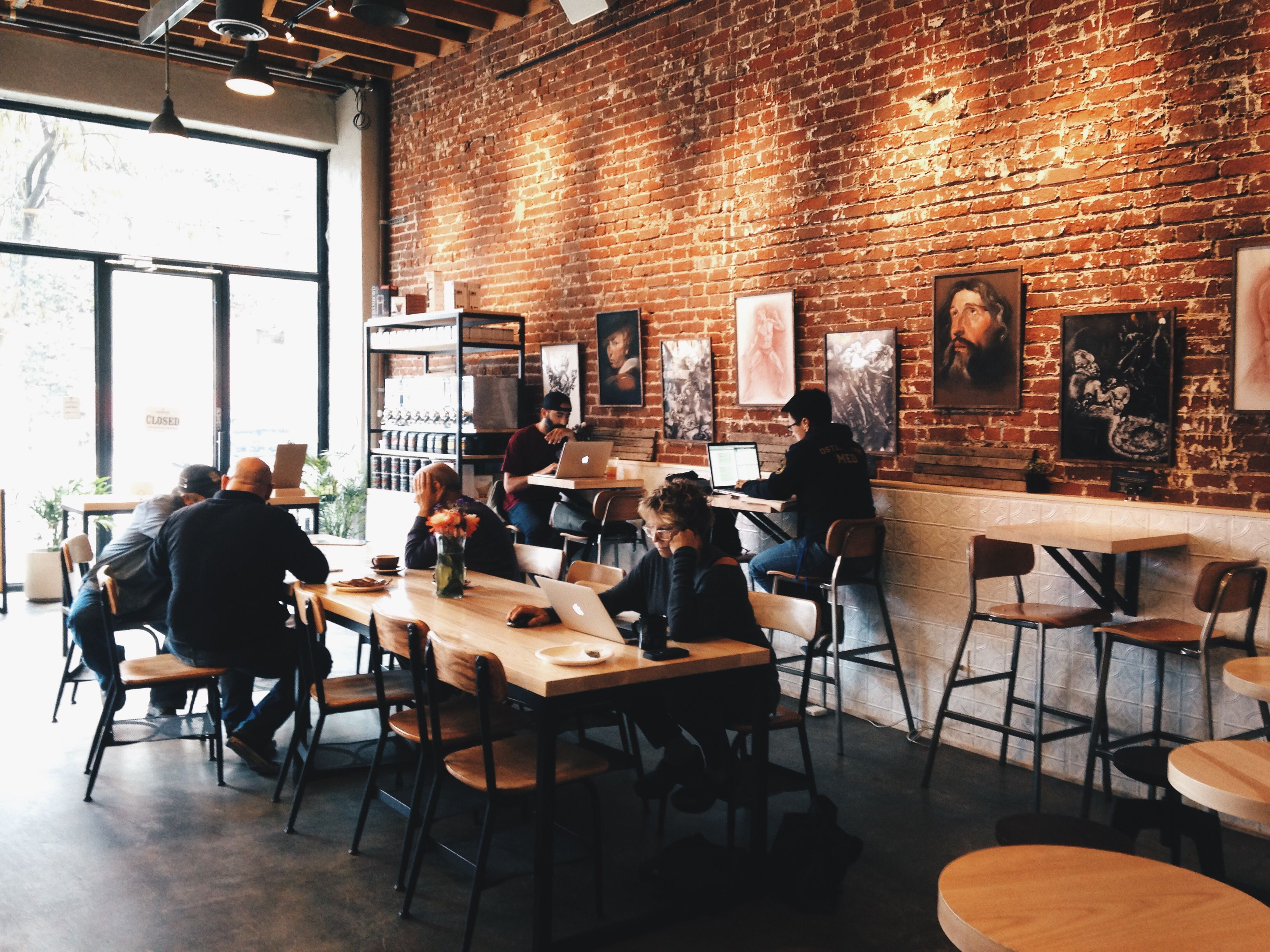 Groundwork Coffee Co  in the Downtown Los Angeles Arts District