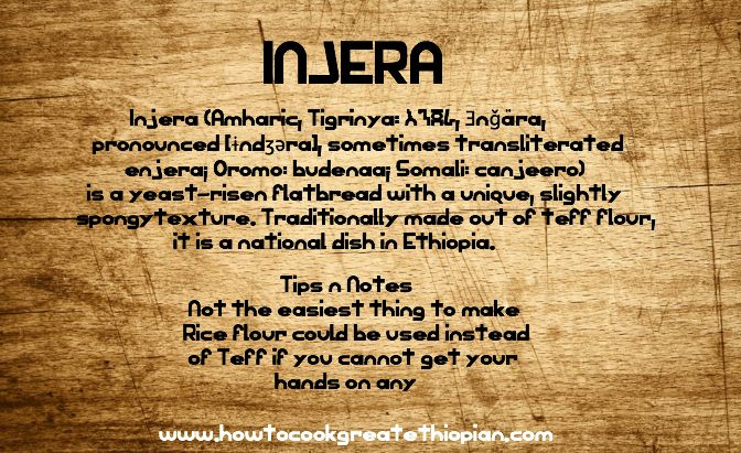 From Our Website Ethiopian Food Flash Cards Www Howtocookgreatethiopian Com Injera Or Enjera Writing Quotes Screenwriting Quotes Writer Quotes