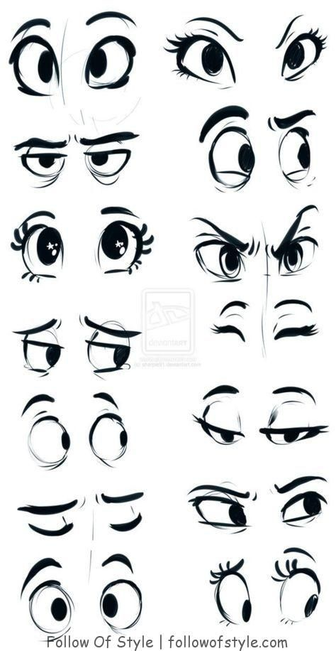 25 Impressive Ways to Draw an Eye Easily | Follow Of Style