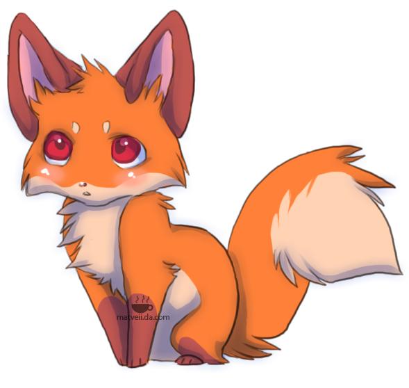 Cute baby fox anime 1533e30ebfc86583e4d47d092c5809e3 d37wbqopng 589