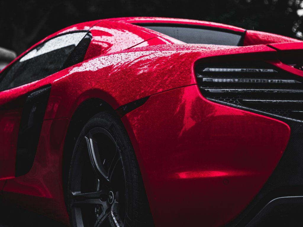 Red Mclaren Taillight Rear Wallpaper Red Sports Car Sports Car Wallpaper Sports Car Wallpaper red sports car rear view