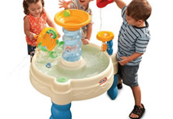 Little Tikes Spiralin\' Seas Waterpark Play Table | Floral Coloring ...