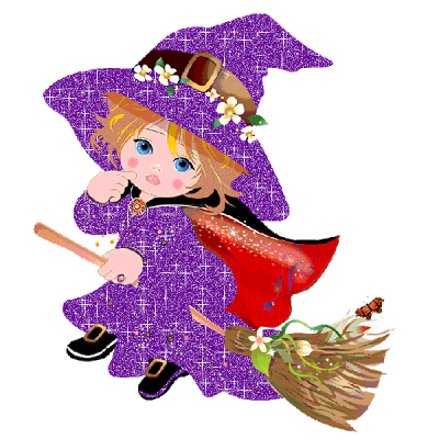 cute baby vintage halloween   Cute Halloween Witches
