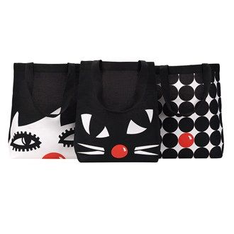 Pick Up A Lulu Guinness Designed Tote At Sainsbury S For Red Nose Day