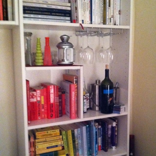 bar book case - Google Search