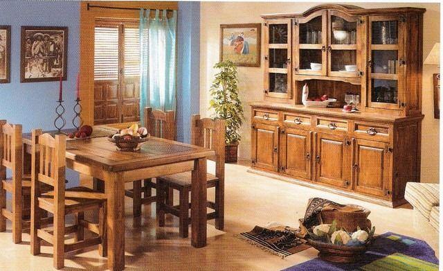 muebles de madera rusticos - Buscar con Google | casa | Pinterest ...