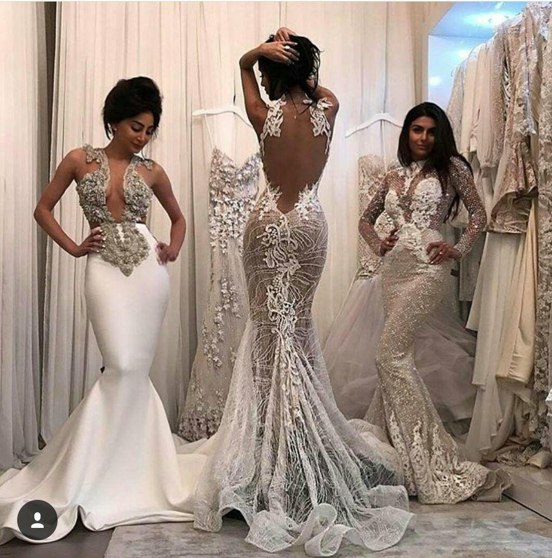 Ohh lala😍🤗☺️I wanting all three hmm yes Wedding dresses
