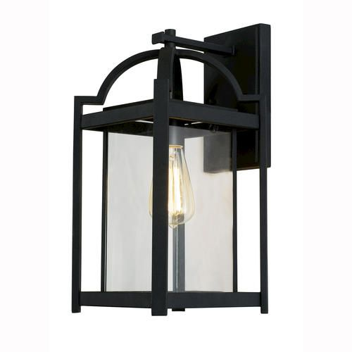 Outdoor lighting - Patriot Lighting Elegant Home Riley 1 Light 16 1/4