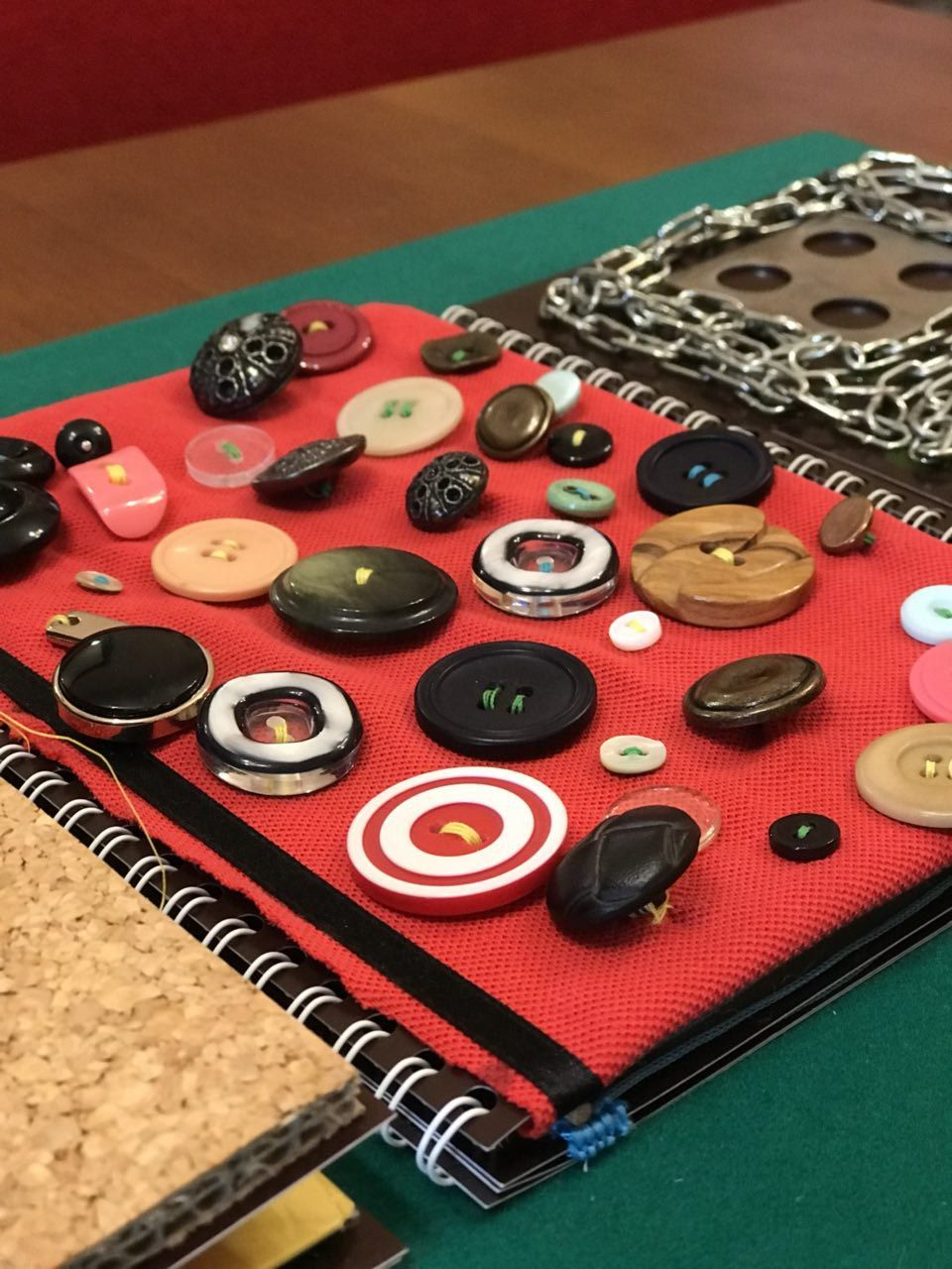 • Estimulación Sensorial Para Educadora Mi Juguete Creando Tablero ZOkiXuP