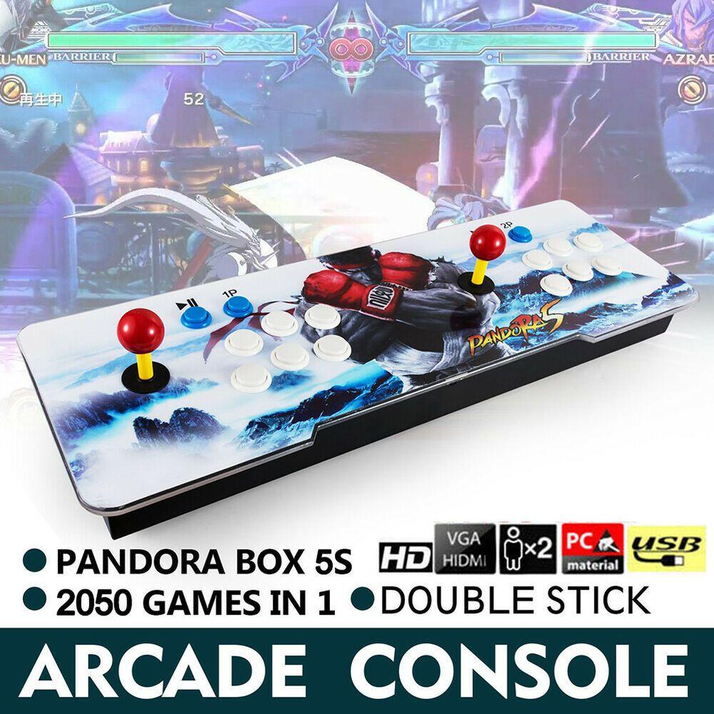 eBay #Sponsored New Pandor Box 5s 2050 in 1 Retro Video Games Double