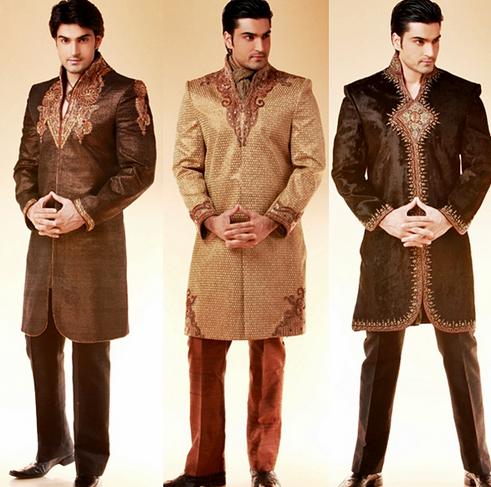 Indische Kleidung Manner Sehr Luxurios Kann Getragen Werden Bei