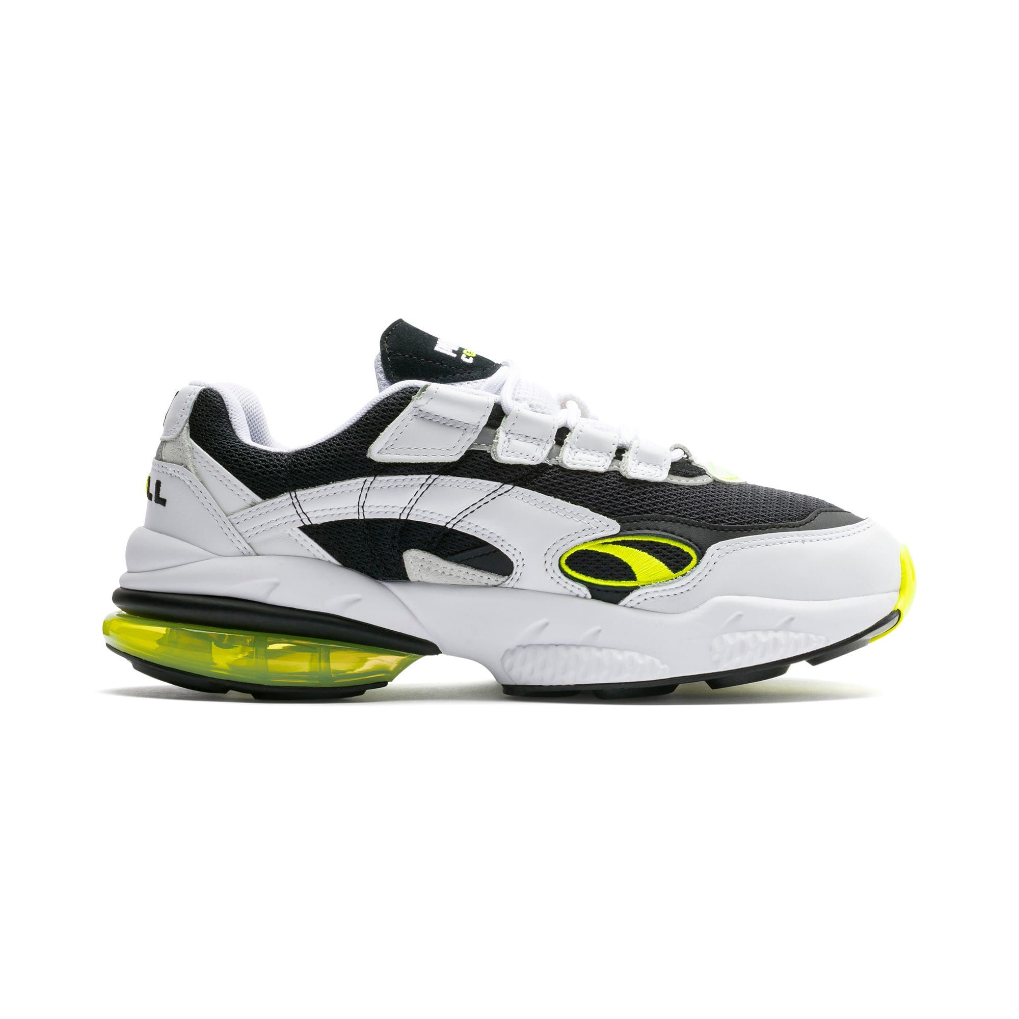 PUMA Cell Venom Hype Trainers in Black/White/Yell Alert size ...