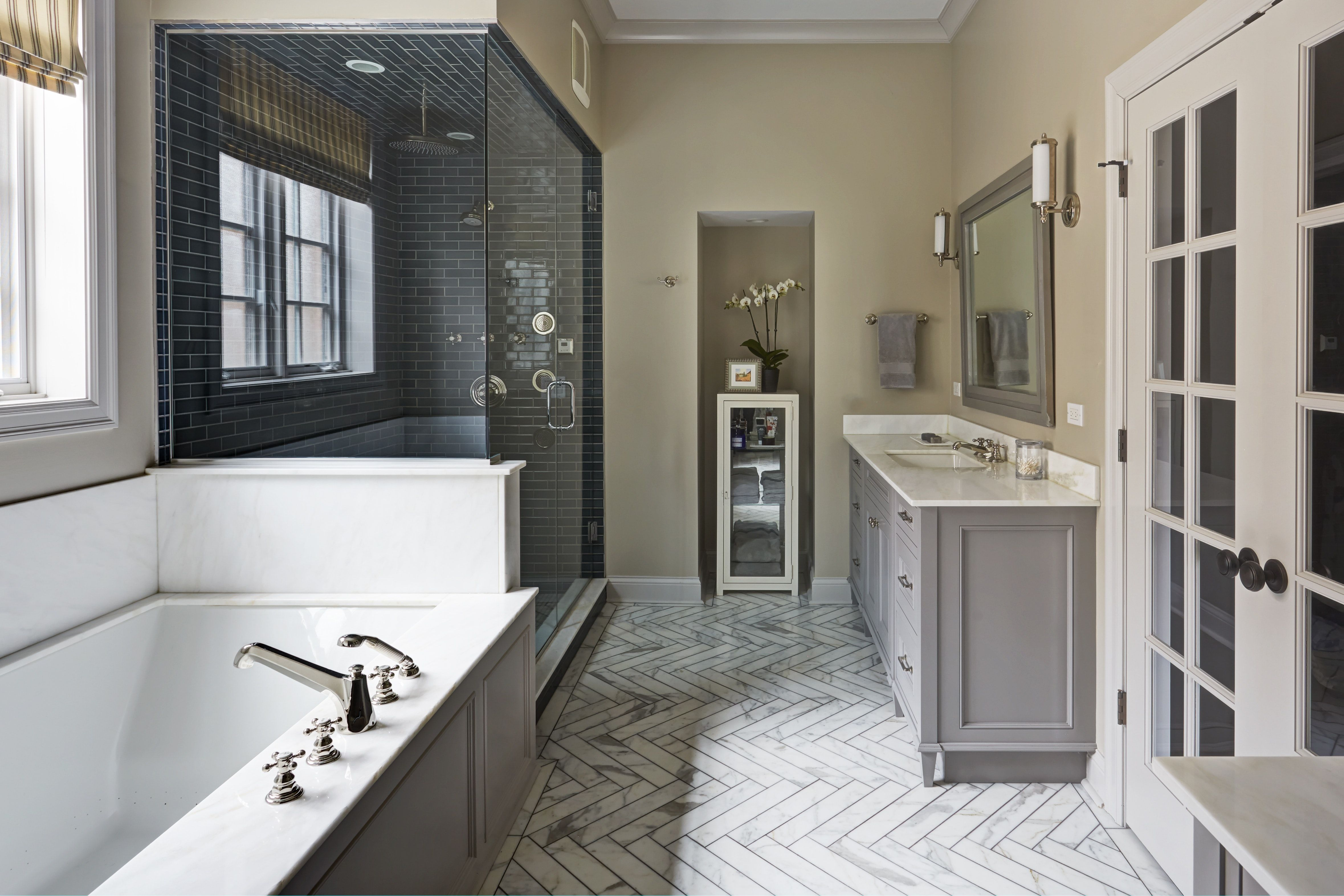 master bathroom jacuzzi tub blue tile shower marble on home inspirations this year the perfect dream bathrooms diy bathroom ideas id=77387