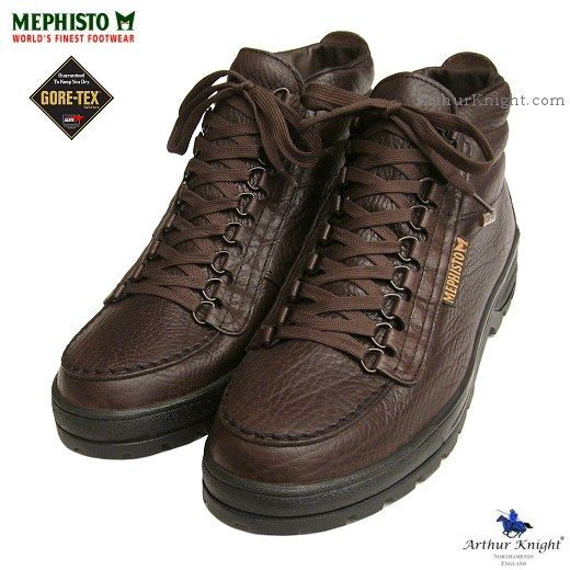 Mephisto Mens Gore Tex Sierra in Brown