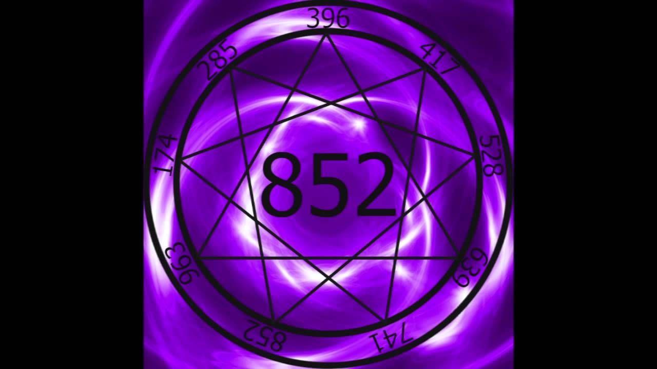 1 Hr  Solfeggio Frequency 852hz ~ Awakening Intuition