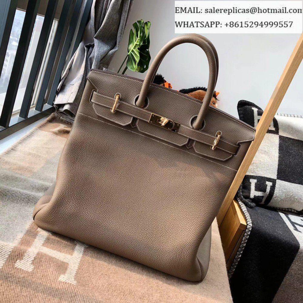6b70fff7e7f Hermes Birkin 40 HAC Bag-Etoupe Togo Leather  handbagknockoffs ...