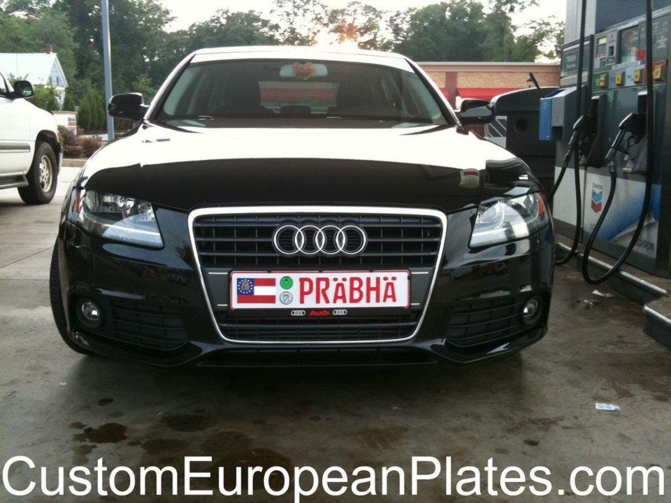 Custom European License Plate Cars With Custom European