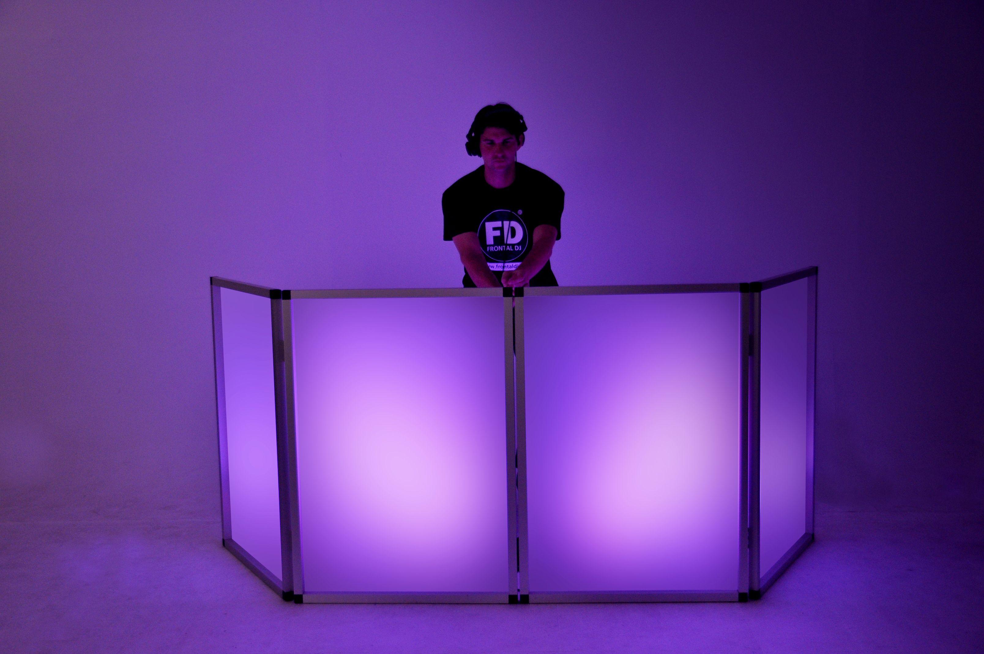 Frontal iluminado para dj´s modelo Kubik