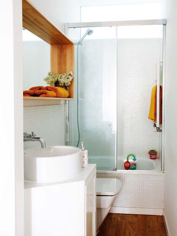 Ideas geniales para ordenar baños mini y... ¡Preciosos ...