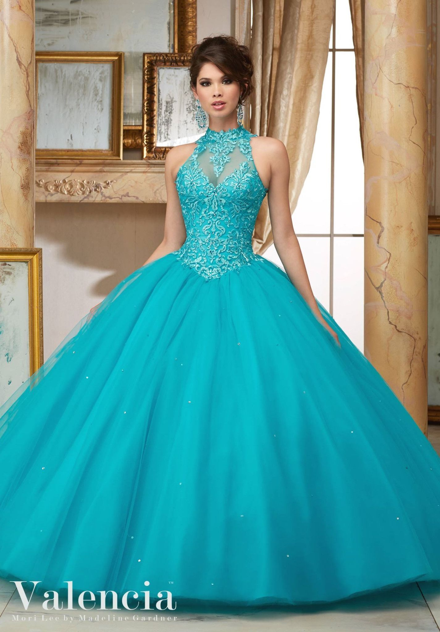 Mori Lee Valencia Quinceanera Dress 60004 | 15 años, Vestidos de ...