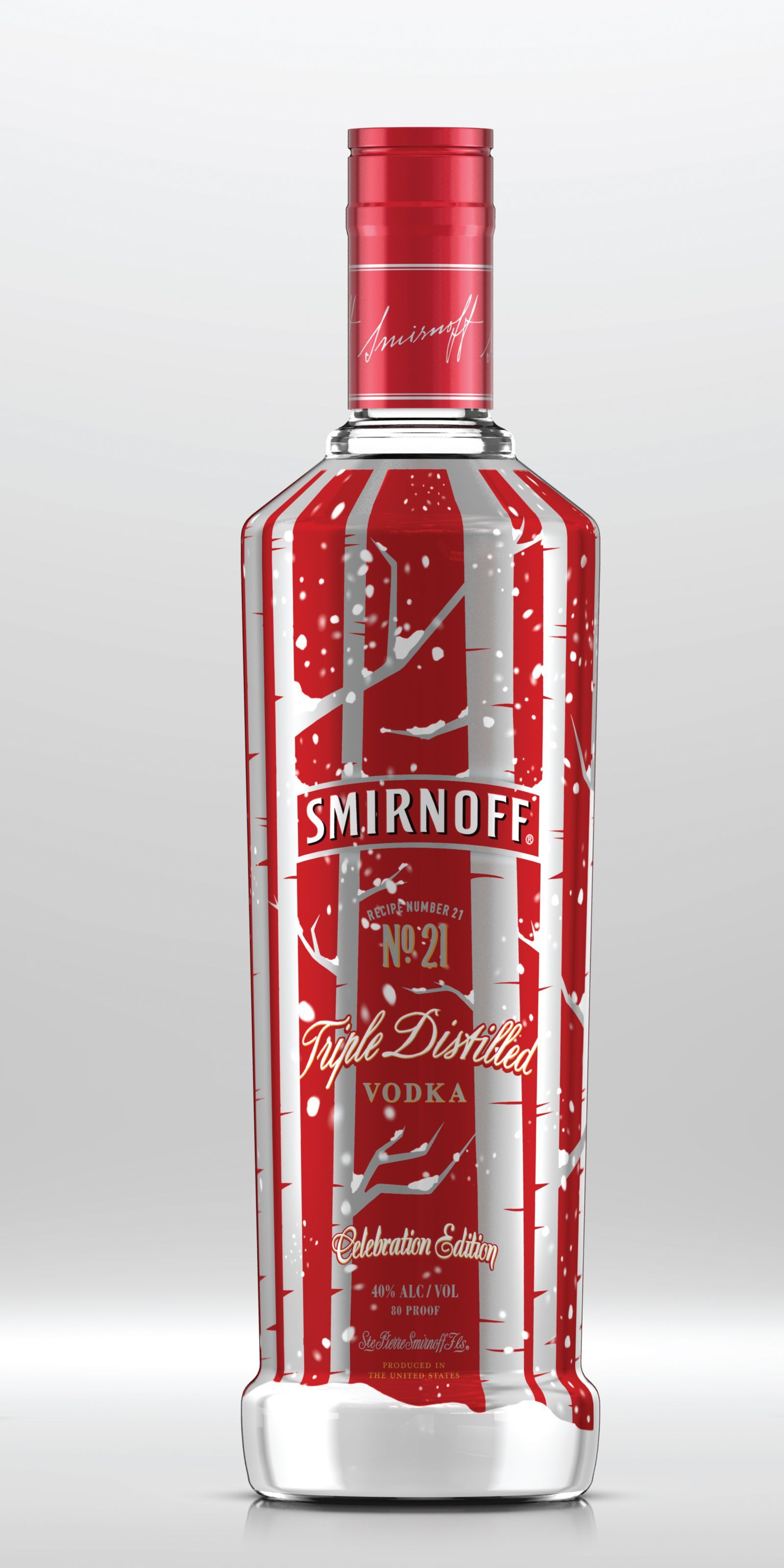 Smirnoff No 21 Vodka Celebration Edition Beverage Media Group Vodka Smirnoff Alcohol Packaging