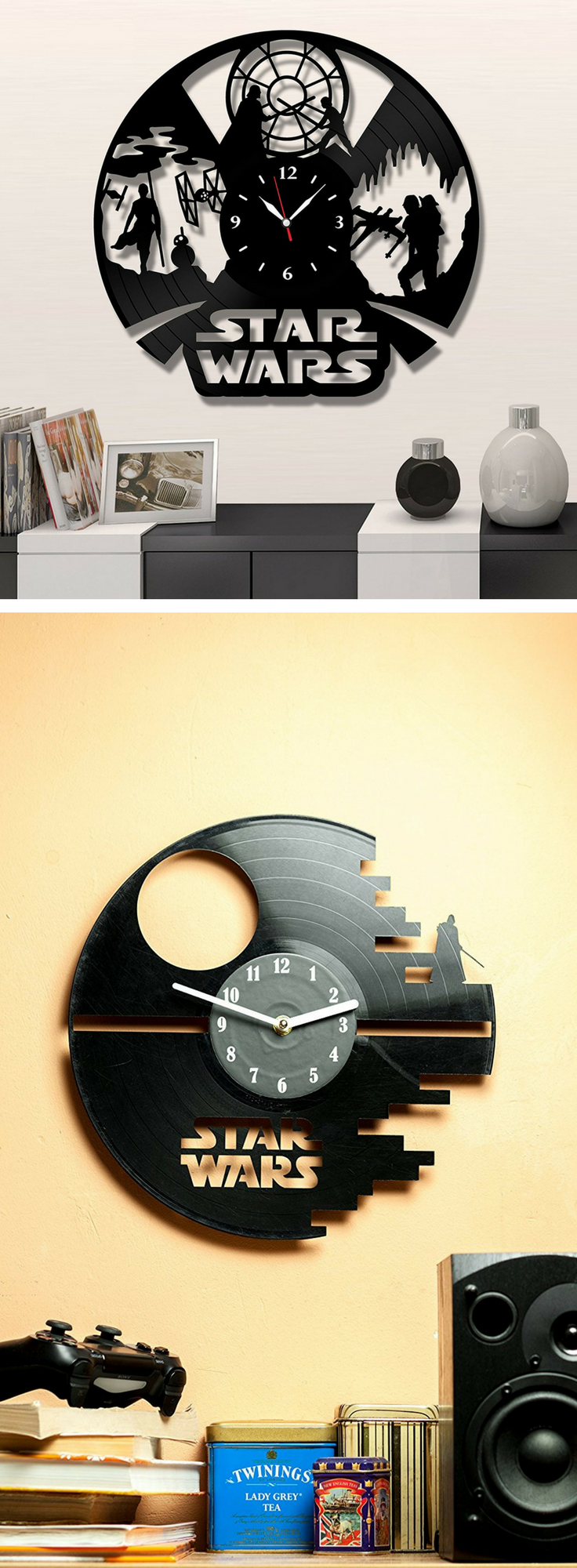 The Best Star Wars Wall Clock - Mind Your Time Before Galaxy Travel ...