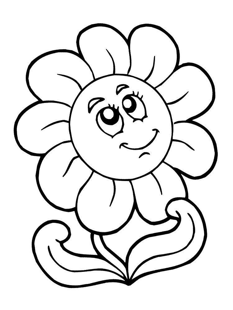Dibujos De Flores Para Pintar Y Colorear | Pintura | Pinterest