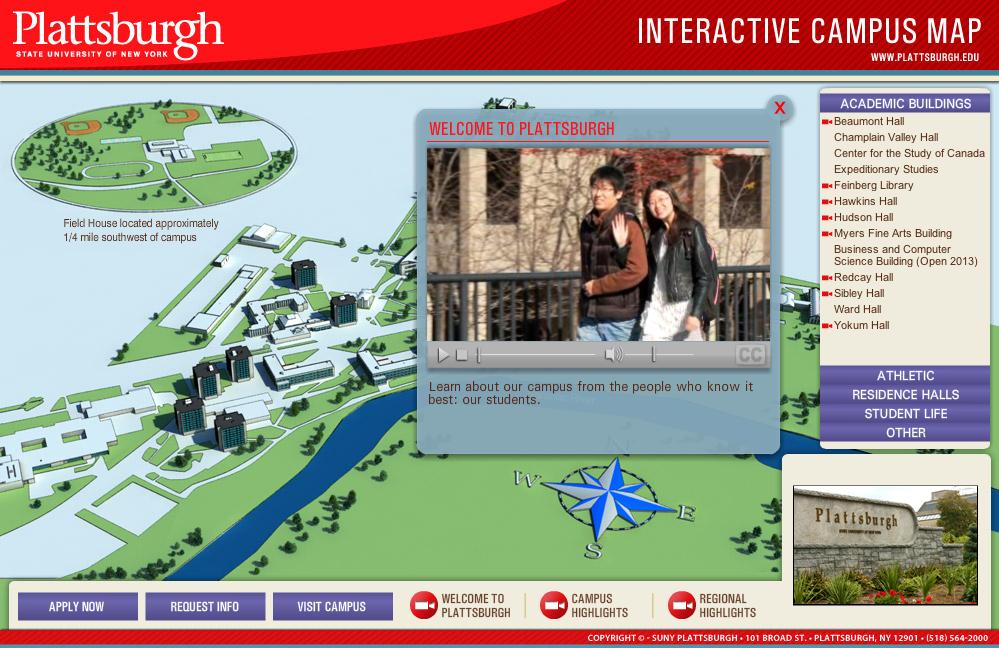 Virtual Campus Experience Suny Plattsburgh Our Portfolio