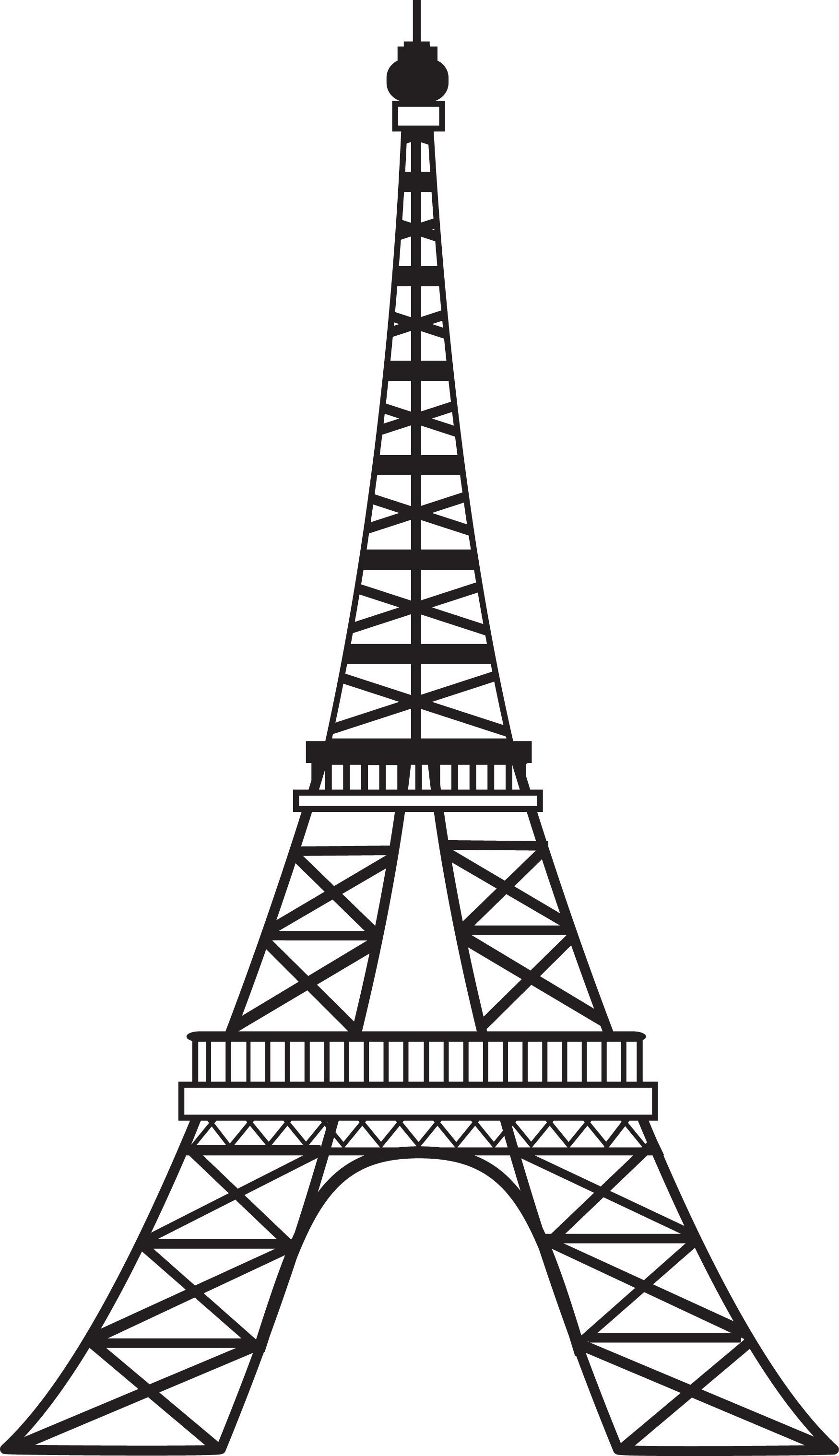 English Accent Training For French Speakers Part 2 Eiffel Tower Silhouette Eiffel Tower Drawing Eiffel Tower Clip Art