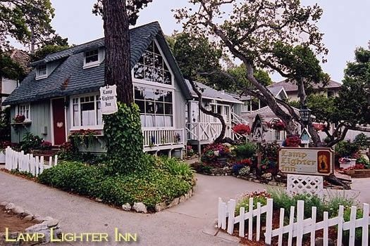 Lamp lighter inn sunset house carmel ca closest inn to the famous