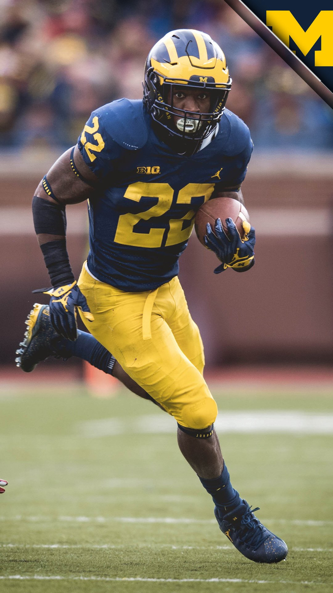 low priced 98ea4 1377f Karan Higdon | Michigan Football | Michigan wolverines ...