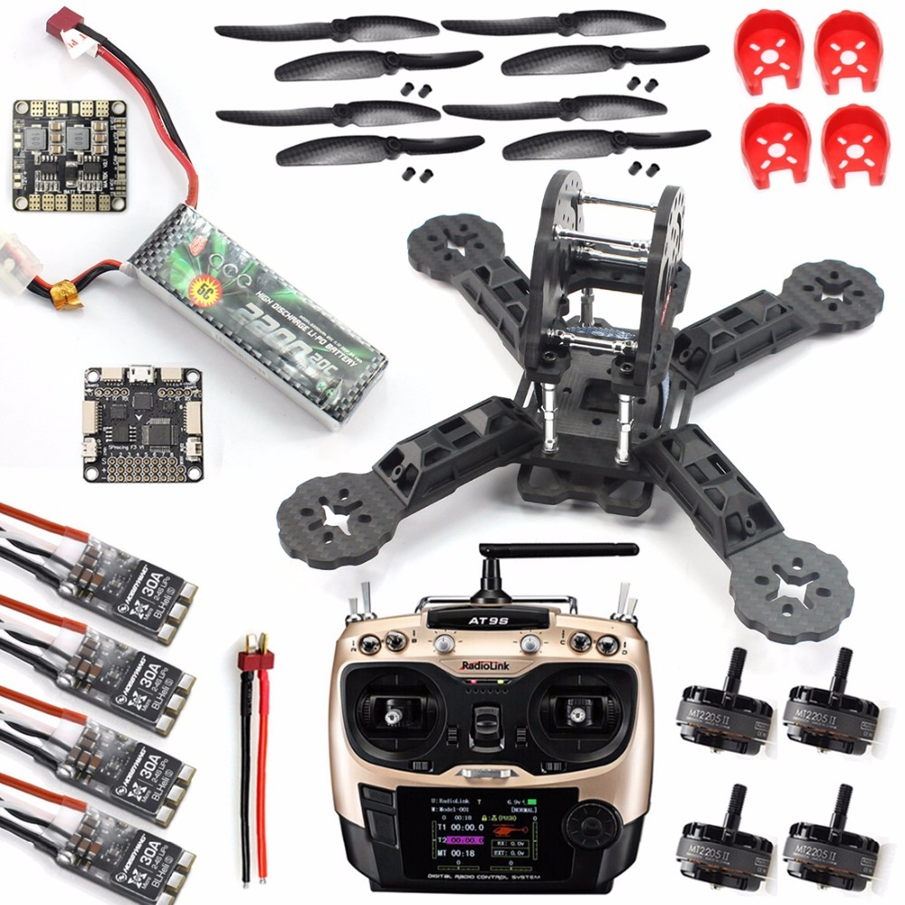 318.57$  Watch more here - http://aighh.worlditems.win/all/product.php?id=32785727450 - JMT DIY Toys RC FPV Drone Mini Racer Quadcopter 190mm fpv f3 Carbon Fiber Racing Frame Kit With Flight Controller Receiver