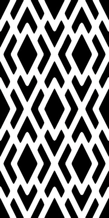 Black And White Geometric Stencil Stencil Patterns Stencils Wall