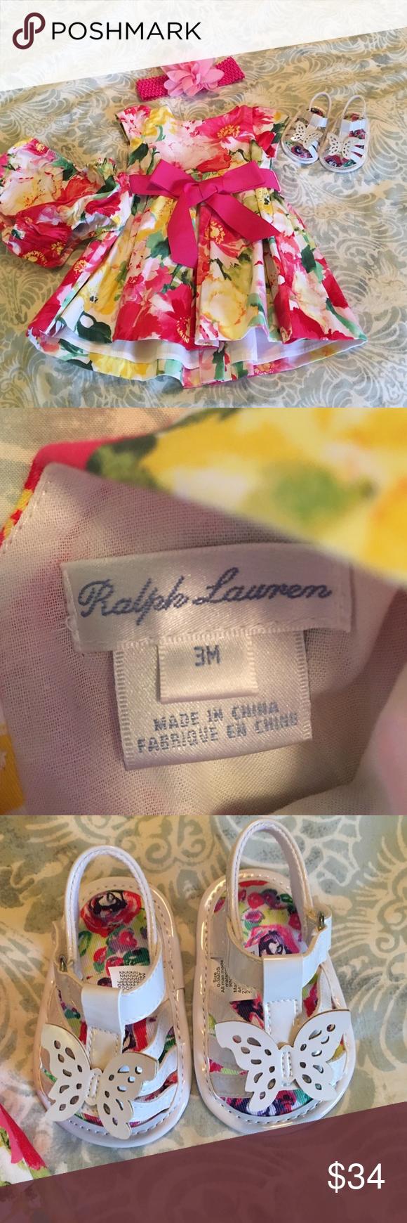 🌟SALE $27🌟🌹🌷Ralph Lauren Floral Dress Ralph Lauren Dress & Children's Place Accessories Dresses Formal
