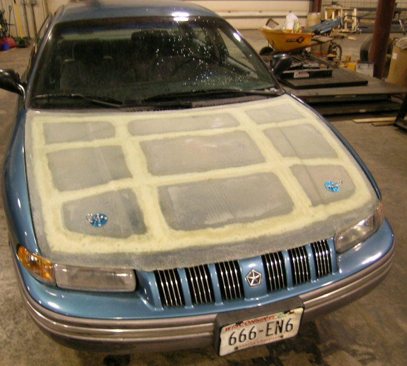 How To Make A Fiberglass Hood Garage Tools Auto Body Repair Kit Cars Garage A